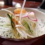 109902858 - サラダ(天ぷら定食)