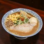 みそらーめん かたぶつ - 料理写真:みそラーメン+コーン+味玉☆