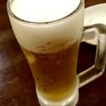 海鮮市場 からっ風 - 【2019.6.18(火)】生ビール300円