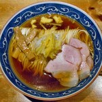 麺屋 坂本01  - ゆず醤油らーめん