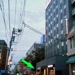 麺屋 坂本01  - 『ホテルリブマックス新潟駅前』の1階にあります(緑の⇨)