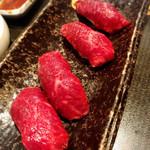 109907029 - 赤身肉寿司