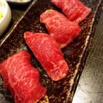 109907030 - 霜降り肉寿司