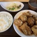 楽食中華 飛燕 - 油淋鶏塊