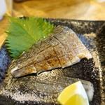 日本酒食堂SO-KEN - 炙り〆鯖~藻塩とすだちで~