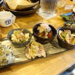日本酒食堂SO-KEN - おばんざい全種類盛り合わせ