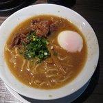 肉そば屋にっこう - 近江牛スジ肉を使った鶏豚ラーメン(醤油:900円)