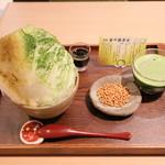 茶々屋南山園 - 料理写真:西尾 金の抹茶氷