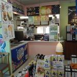 109918400 - 内観(店内側:カフェの販売窓口)