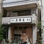 109919683 - 浅草角萬 店先