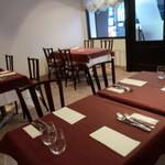 サポセントゥ ディ アキ - ③手前のテーブル