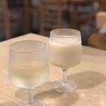 こまきしょくどう 鎌倉不識庵 - 醍醐のしずくとミツル醤油の甘酒