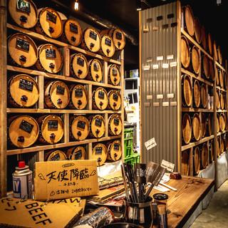【日本初】ワイン100種&生ビール3種が飲み放題290円