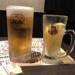 109925834 - 生ビールはアサヒ