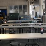 田子の浦港 漁協食堂 - 食堂内