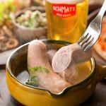 ヴァイスヴルスト weisswurst(boils white sausage )