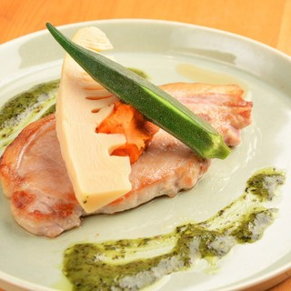 ●全てのメニューに北海道の旬のこだわり食材を使用しています♪