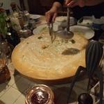 ノンノ - チーズの上で和えてます