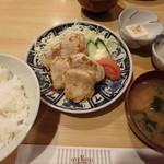 渡辺 - 生姜焼き定食¥650