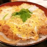 とんかつ 三金 - ◆ヒレカツ丼 900円