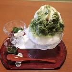 【蜜屋】かき氷抹茶