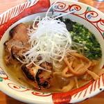麺や 亀陣 - 鶏そばしお_700円