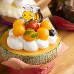 パパ オランジェ - 料理写真:丸ごとメロン