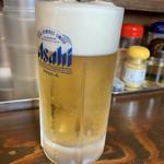 麺屋いちびり - 生ビール♡¥450(税込)