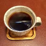 ジャム cafe 可鈴 - 【週替わりランチ(1,050円)】食後のホットコーヒー