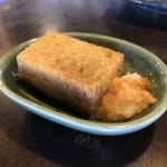中国山地蕎麦工房ふなつ - 揚げ蕎麦がき