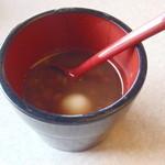 Nihonryourifuji - 沖縄風のぜんざい、白玉がとっても柔らかくて美味しい(*^_^*)