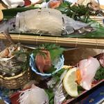 日本大漁物語 きじま - お造り盛り合わせ