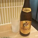 109958154 - ヱビス 瓶ビール 540円 ♪