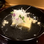 109958486 - 鼈玉子豆腐の椀