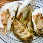 いわしや - 焼き牡蠣