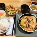 丸の内 タニタ食堂 - ロールキャベツ定食980円