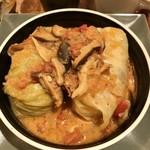 丸の内 タニタ食堂 - ロールキャベツアップ