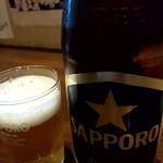 そばと酒 湖月 - 瓶ビール