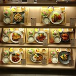丸の内 タニタ食堂 - 定食サンプル
