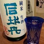 そばと酒 湖月 - 裏司牡丹