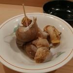 肴家 まこと - 白ばい貝の煮物