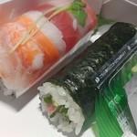 スシアベニューK's - レインボー&鉄火巻