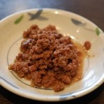 ちばチャン - ひき肉の生姜煮