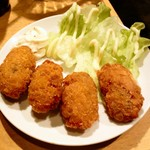 串や とりけん - カキフライ¥400 2011.12.27