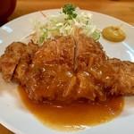 さんきち - チキンカツ定食(780円)