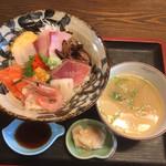 お食事処 大瀬 - 料理写真:鮮度の良いお刺身