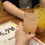 いちゃりば - グアバ酎ハイとマンゴー酎ハイ各¥400