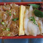 109979412 - 天然鯛昆布〆胡麻和え2色弁当