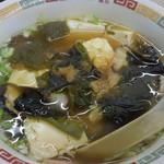 かんむりや - 湯豆腐150円