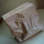 沖野商店 - 紙袋に入ってきます(^_^;)